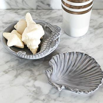 Sea Life Soap Dishes, Pottery Barn