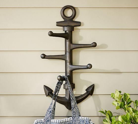 Oversized Anchor Hook Pottery Barn