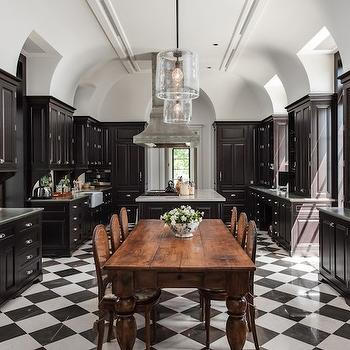 Black and White Kitchens, Eclectic, kitchen, Planning and Building