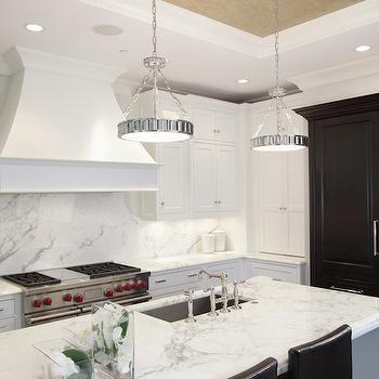 Kitchen Tray Ceiling, Transitional, kitchen, PLD Custom Homes