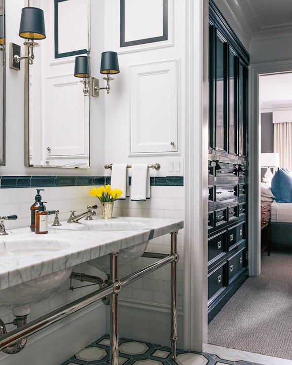 Ikea Bedroom Boys Bedroom Feature Wallpaper Bedroom Black And White Wallpaper Bedroom Sets Pinterest: Marble Double Washstand