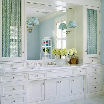 Custom Built Vanity, Transitional, bathroom, Thornton Designs