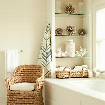 Beach Cottage Bathroom, Cottage, bathroom, Thornton Designs