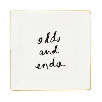 Decor/Accessories - Daisy Place Medium Square Dish I kate spade new york - odds and ends tray, odds and ends dish, kate spade dish, kate spade odds and ends dish,