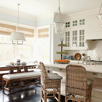 Window Seat Banquette, Transitional, kitchen, Thornton Designs