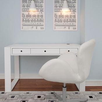 ducdcu Austin Desk, Contemporary, boy's room, Lily Z Design