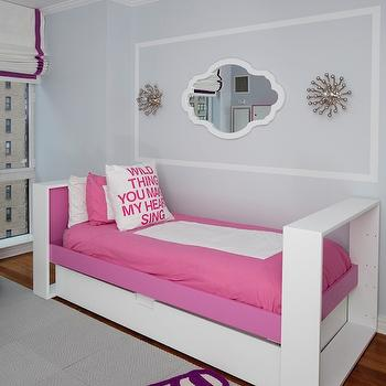 Pink And Purple Kids Room Contemporary Girl S Room