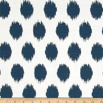 Fabrics - Premier Prints Jo Jo Slub Premier Navy I Fabric.com - navy blue ikat fabric, navy blue ikat dot fabric, navy and white ikt fabric, navy and white ikat dot fabric,