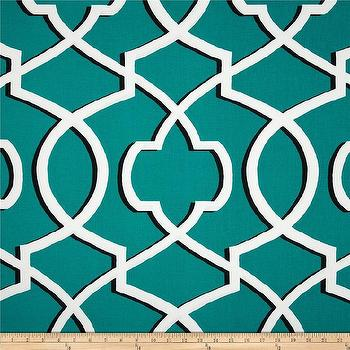Fabrics - Premier Prints Morrow Jade I Fabric.com - jade green lattice fabric, teal green lattice fabric, teal green lattice print fabric,