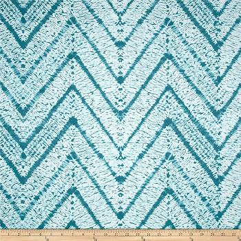 Fabrics - P Kaufmann Indoor/Outdoor Melaya Turquoise I Fabric.com - turquoise chevron fabric, indoor outdoor turquoise fabric, indoor outdoor turquoise chevron fabric, outdoor turquoise chevron fabric,