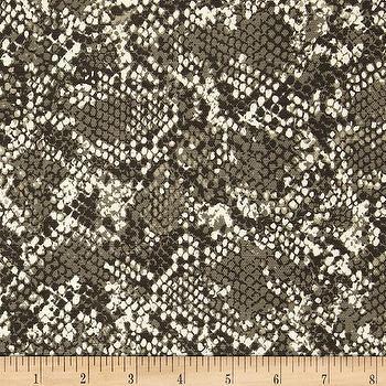 Fabrics - Dwell Studio Renegade Brindle I Fabric.com - taupe snakeskin fabric, taupe gray snakeskin fabric, snakeskin fabric, snakeskin pattern fabric,