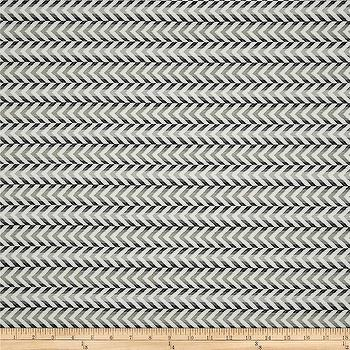 Fabrics - Waverly Full of Zip Jacquard Licorice I Fabric.com - black and gray chevron fabric, black and gray chevron arrow fabric, black and gray geometric fabric,