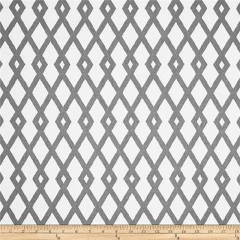 Fabrics - Robert Allen Graphic Fret Greystone I Fabric.com - gray and ivory fretwork fabric, gray and ivory fabric, gray and ivory geometric fabric, geometric fabric, fretwork fabric,