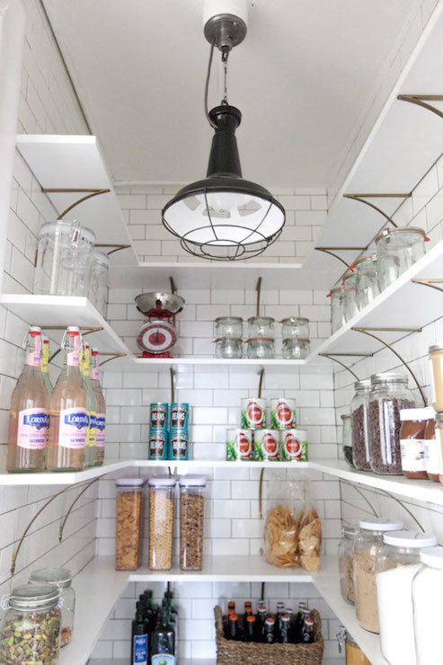 Pantry Shelves Cottage Kitchen Oh Happy Day