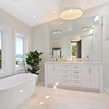 Oval Bathtub, Contemporary, bathroom, Marsh and Clark