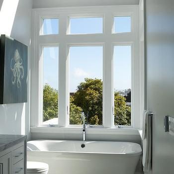 Bath Under Window Design Decor Photos Pictures Ideas