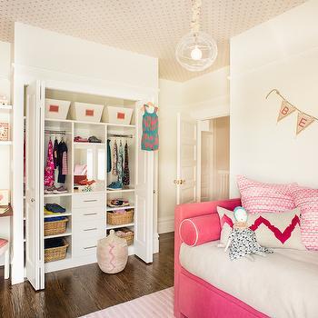 Kids Closet Ideas, Transitional, girl's room, Jute interior Design