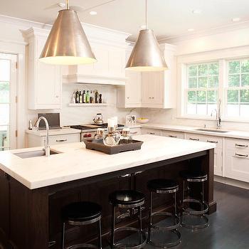 Goodman Hanging Lamps, Transitional, kitchen, James Schettino Architects