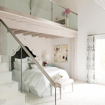 Loft Playroom, Contemporary, girl's room, Thompson Custom Homes