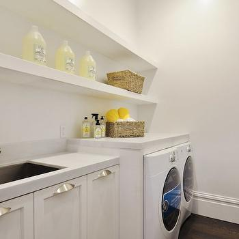 Laundry Room Shelves, Contemporary, laundry room, Marsh and Clark