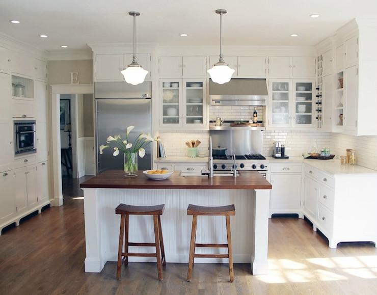 Beadboard Kitchen Island Cottage Kitchen Taryn Emerson Design