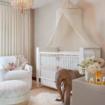 Crib Canopy, Traditional, nursery, Lori Gentile