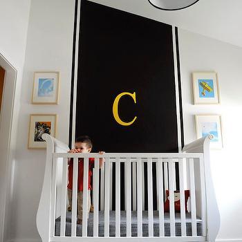 Black and White NUrsery, Contemporary, nursery, Project Nursery