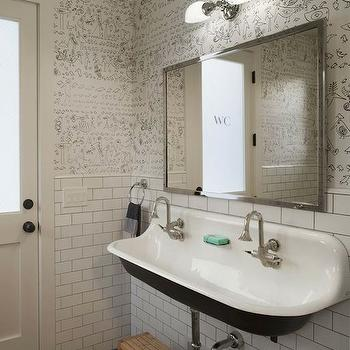 Kohler Brockway, Eclectic, bathroom, Modern Organic Interiors