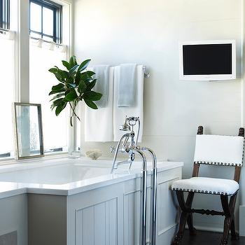 Paneled Bathtub, Transitional, bathroom, McAlpine Booth and Ferrier
