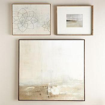 Art/Wall Decor - Carol Benson-Cobb Wall Gallery I Horchow - contemporary galley wall art, abstract gallery wall, contemporary wall gallery, contemporary artwork collection,
