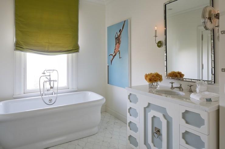 Luz Single Bathroom Vanity Set  Transitional  Bathroom