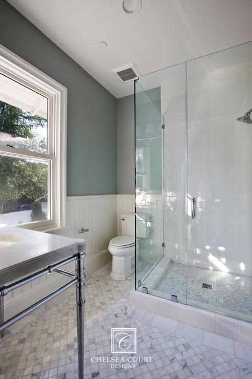 Beadboard Bathrooms Transitional Bathroom Chelsea Court Designs