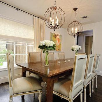 Square Back Dining Chairs, Transitional, dining room, Meredith McBrearty