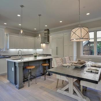 X Base Dining Table, Transitional, kitchen, Fiorella Design