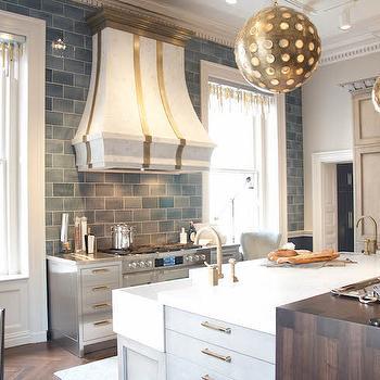 Marble Kitchen Hood, Contemporary, kitchen, Matthew Quinn Design