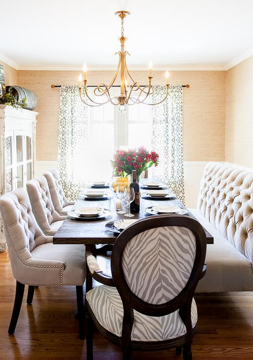 dining room Posh Interiors Austin
