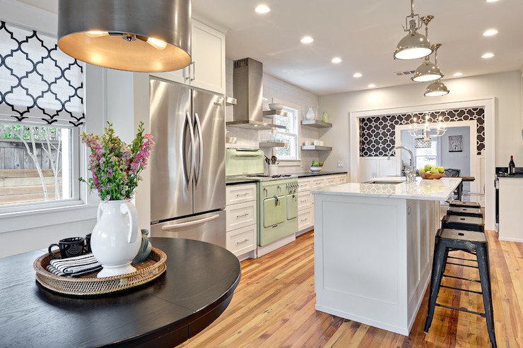 Transitional Kitchen Benjamin Moore Classic Gray