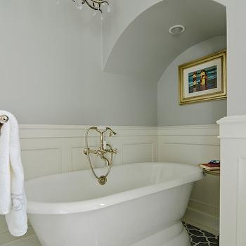 Bathroom Wainscoting, Eclectic, bathroom, FGY Architects