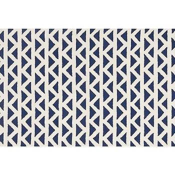 Rugs - Triangles Rug - Navy | Pottery Barn Kids - navy geometric rug, navy and white geometric rug, navy triangle print rug, navy triangle pattern rug,