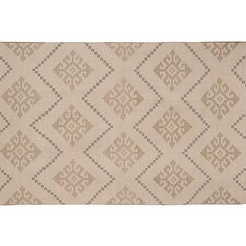 Rugs - Capel Play Diamond Rug - Khaki | Pottery Barn Kids - khaki rug, khaki kids rug, khaki geometric rug, khaki colored kids rug,