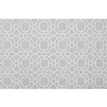Preppy Trellis Rug, Gray, Pottery Barn Kids