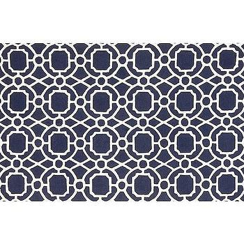 Rugs - Preppy Trellis Rug - Navy | Pottery Barn Kids - navy trellis rug, navy and white trellis rug, navy geometric rug, navy and white geometric rug,