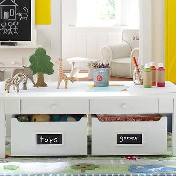 Hobby Table Crate And Barrel