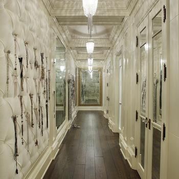 Jewelry Wall, Contemporary, closet, The Iron Gate