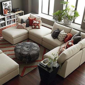 U Shaped Sectional I Bassett Furniture