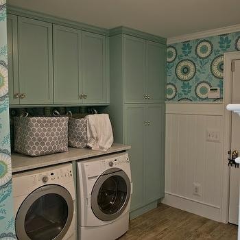Laundry Room Cabinets, Contemporary, laundry room, Birds of a Feather Design