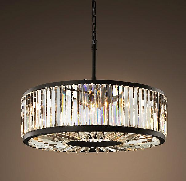 Restoration Hardware Lighting For Less: Welles Clear Crystal Chandelier I Restoration Hardware