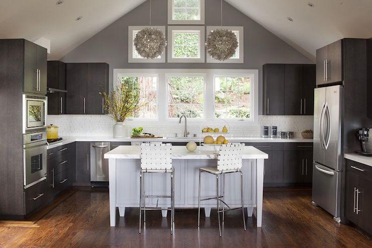 Contemporary kitchen narrow kitchen