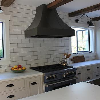 Honed Calacatta Countertops, Cottage, kitchen, FarmHouseUrban