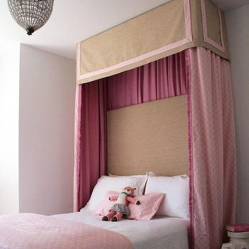 Kids Bed Canopy, Transitional, girl's room, Rachel Bishop Designs